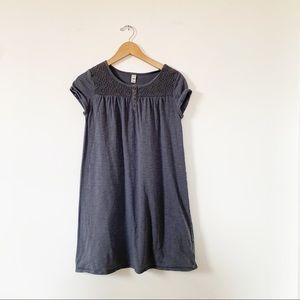 3/$25 Old Navy Gray Tunic Cotton Play Dress Sz XL